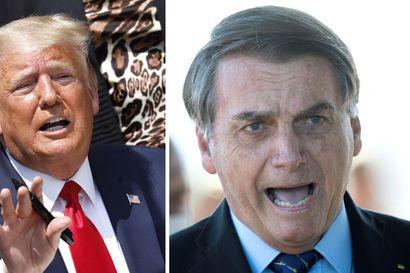 Analyysi: Trumpia ja Bolsonaroa yhdistää nyt uhkaus irtautua WHO:sta – presidentit ovat selvinneet skandaalista toiseen, mutta koronapandemia voi olla viimeinen niitti äänestäjille