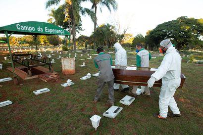 WHO: Etelä-Amerikasta tullut koronavirustartuntojen keskittymä