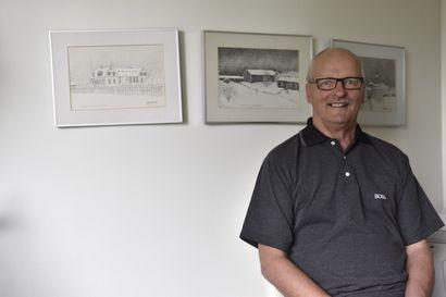 Eero Nevala palasi Kuusamon Rotaryklubiin pitkän tauon jälkeen ja siirtyi presidentin paikalle