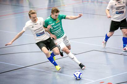 ToPV jäi ilman maaleja futsal-liigan avauksessaan