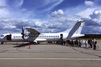 Valtio tukee ja kannustaa viiden maakunnan lentoja 11,5 miljoonalla eurolla ikään kuin starttirahalla, mutta rahahana tyrehtyy ensi vuoden jälkeen