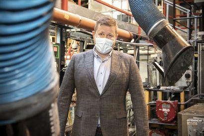 Katkaravunkuorista se alkoi – kempeleläinen BioSO4 on kehittänyt menetelmän, jolla jätevesien rikkiyhdisteet voidaan kierrättää