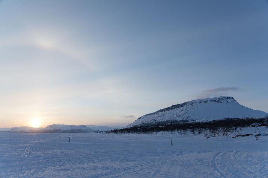 Kilpisjärvellä lumivyöryvaara on nyt kohtalainen.