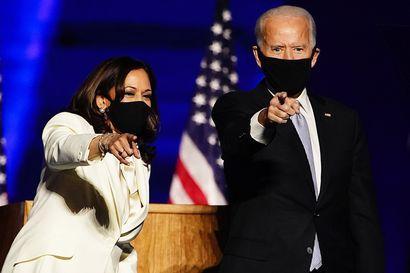 Time-lehti nimesi Joe Bidenin ja Kamala Harrisin yhdessä vuoden henkilöksi