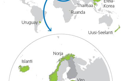 Kartta näyttää, mistä Suomeen voi saapua ilman pakollista karanteenia – Ruotsista ja muista riskimaista saapuvat pakkokaranteeniin