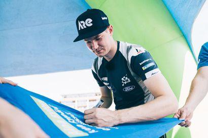 Teemu Suninen jatkaa rallin MM-sarjassa - Suomalaiskuljettaja ajaa vain osan kauden kilpailuista