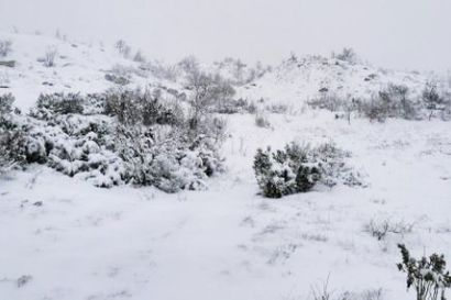 Ensilumi satoi isoon osaan Lappia – Enontekiöllä lunta on jo yhdeksän senttiä