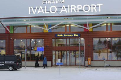 Kova sivutuuli pysäytti Ivalon lentoliikenteen: kone yritti lentoon lähtöä kolme kertaa 4,5 tunnin aikana