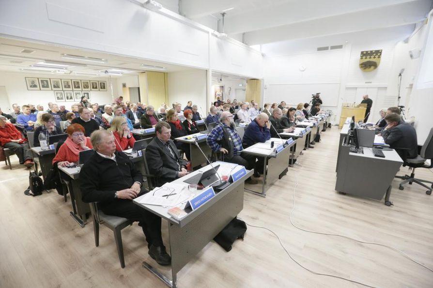 Pudasjärven kaupunginvaltuusto päätti Kollajan altaan rakennuksesta.
