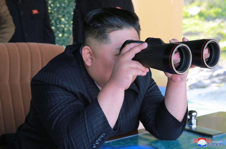 Pohjois-Korea on kiistänyt sekaantuneensa Kim Jong-namin salamurhaan. Kuvassa Pohjois-Korean diktaattori Kim Jong-un.