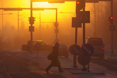 Auringon saattaa hyvällä tuurilla nähdä pitkästä aikaa Oulussa – alkanut viikko lupaa pikku pakkasta ja poutaa