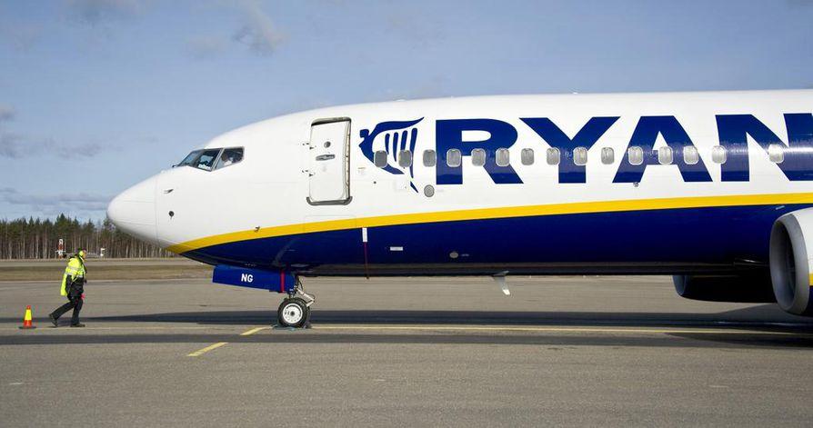 Osa Ryanairin lentäjistä on tänään lakossa.