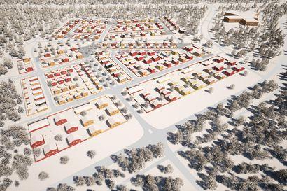 Jääkärinkankaalle nousee satojen talojen omakotialue – Koko Hiukkavaara kasvaa tulevina vuosina kymmenien tuhansien asukkaiden asuinalueeksi