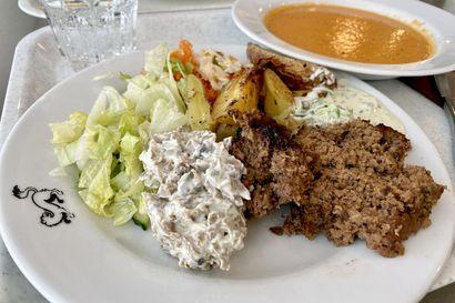 Syömässä: Kärppien lounas on maistuva ja täyttävä