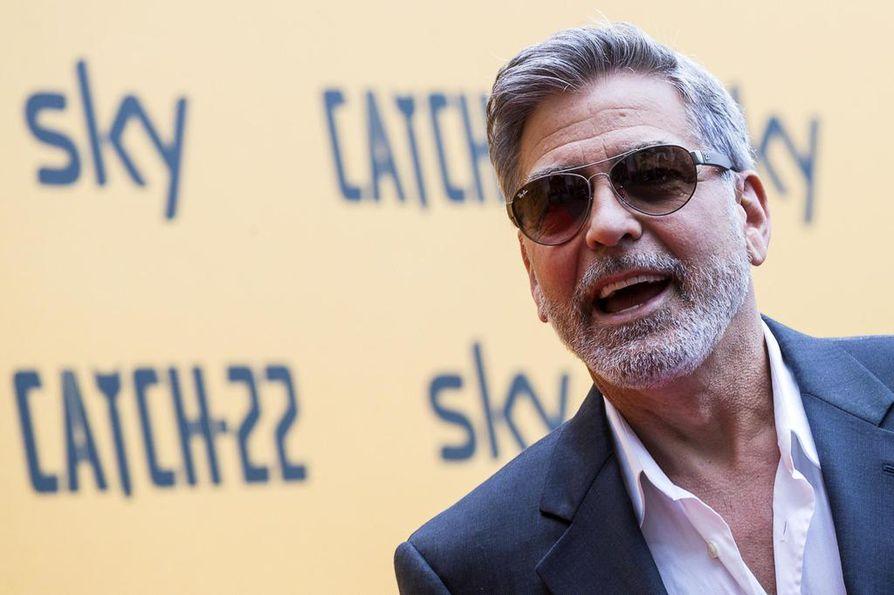 Kansainvälinen elokuvatähti George Clooney saapuu Suomeen. Hän esiintyy torstaina Nordic Business Forumissa Helsingissä.