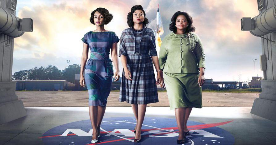 Tositapahtumiin perustuva elokuva Hidden Figures kertoo Nasan matemaatikoista Katherine Johnsonista, Dorothy Vaughanista ja Mary Jacksonista.