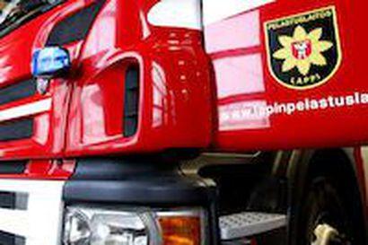 Auto suistui ojaan Sodankylässä, viisi nuorta kuljetettiin sairaalaan saamaan ensiapua