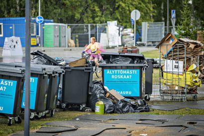Qstockissa kertyi 16 tonnia jätettä, josta vain pieni osa päätyi kierrätykseen – humalaiset asiakkaat eivät olleet jäteastioiden suhteen kovinkaan tarkkoja