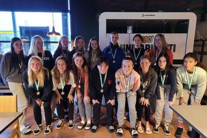 Fc Folkin tyttöjoukkueelle menestystä Hippo-turnauksesta