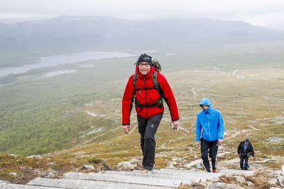 Turistibuumi nostaa Lapin luontokohteita, retkeilyalueet tekevät ennätyksiä