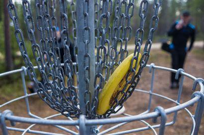 Kempeleen toinen frisbeegolfrata valmistuu kevään aikana Sarkkirantaan – kolmas kenttä sopisi Linnakankaalle, mihin paikallisella lajiseuralla on hieno visio