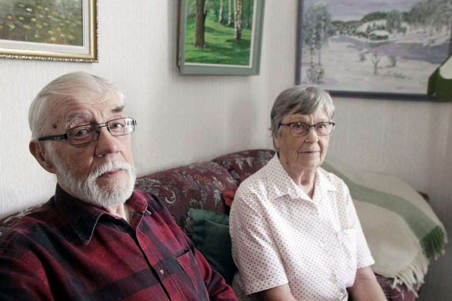 Pauli ja Sylvia Viitala olivat nuoria joutuessaan Veritorstain tapahtumien keskelle.
