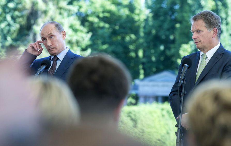 Sauli Niinistö, Vladimir Putin