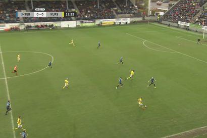 FC Inter - KuPS ottelukooste
