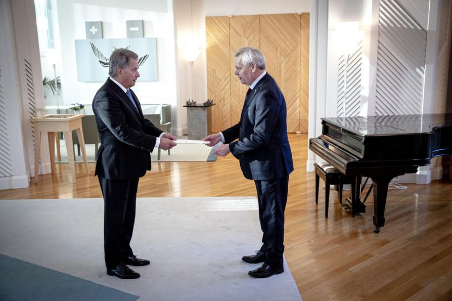 Antti Rinne pyysi hallituksensa eroa viime viikolla.