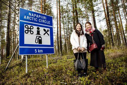 Terveiset napapiiriltä – tästä se oikeasti kulkee, vaikka Rovaniemellä on heitelty sitä milloin minnekin