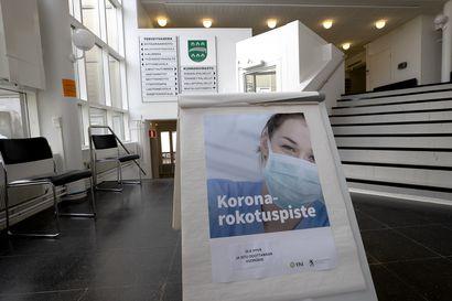 55 vuotta täyttävät pääsevät varaamaan rokotusaikoja Raahessa, 45 vuotta täyttävät ympäristössä