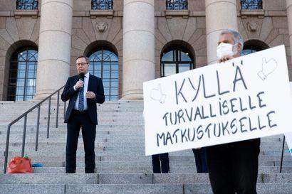 """Ministerit Lintilä ja Skinnari saapuvat tapaamaan Lapin matkailuväkeä Leville ensi viikolla – """"Vielä on toivoa pelastaa Lapin matkailu, jos päätöksiä muutetaan"""""""