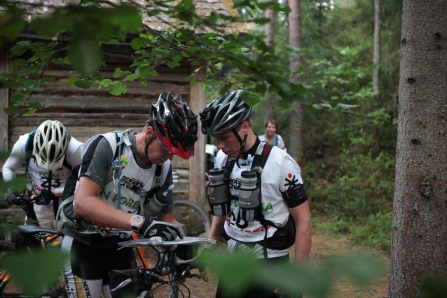 Geopark Challenge kisattiin viime vuonna Muhoksella ja Utajärvellä.