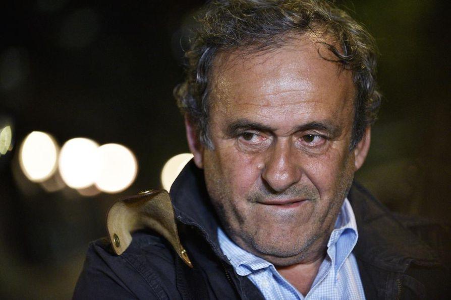 Uefan entinen puheenjohtaja, ranskalainen Michel Platini laskettiin vapaalle jalalle keskiviikon vastaisena yönä.