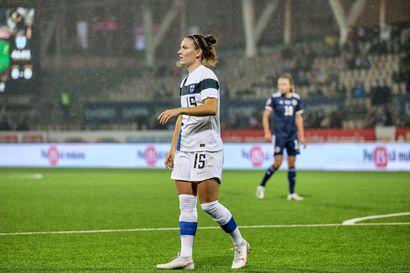 Georgia-ottelun väliin jättänyt Natalia Kuikka pääsee levänneenä Irlantia vastaan