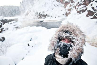 Hurjan kylmää! Kiutakönkäällä mitattiin lauantain Suomen pakkasennätys -37