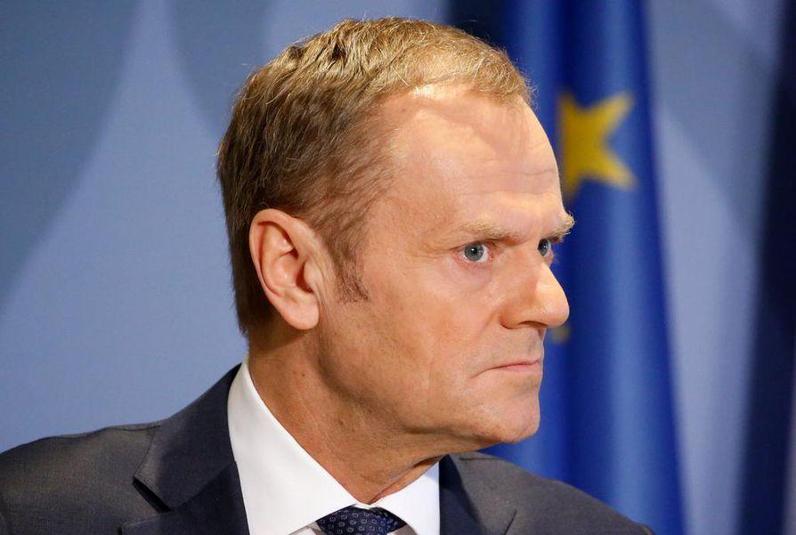 Euroopan neuvoston puheenjohtaja Donald Tusk.