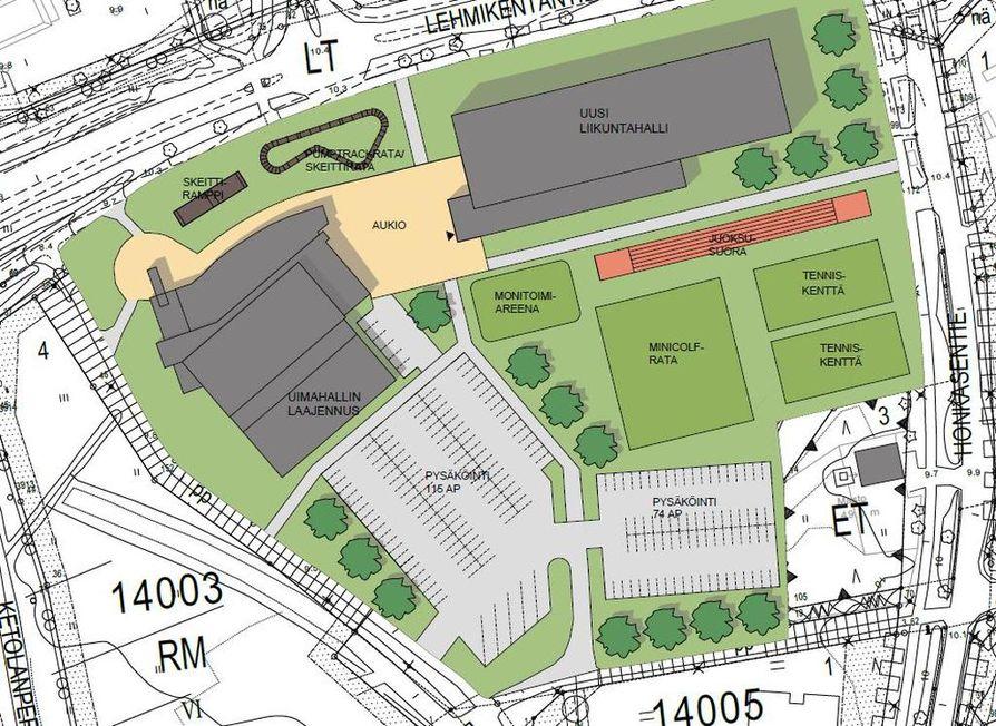 Kempele Suunnittelee Uutta Liikuntakeskusta Zimmarin Viereen