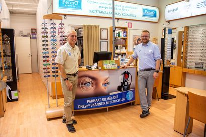 Heikkoon hämäränäköön löytyy ratkaisu - DNeye-skannerin mittaus antaa huipputarkat tiedot silmien taittovoimasta ja fyysisistä mitoista