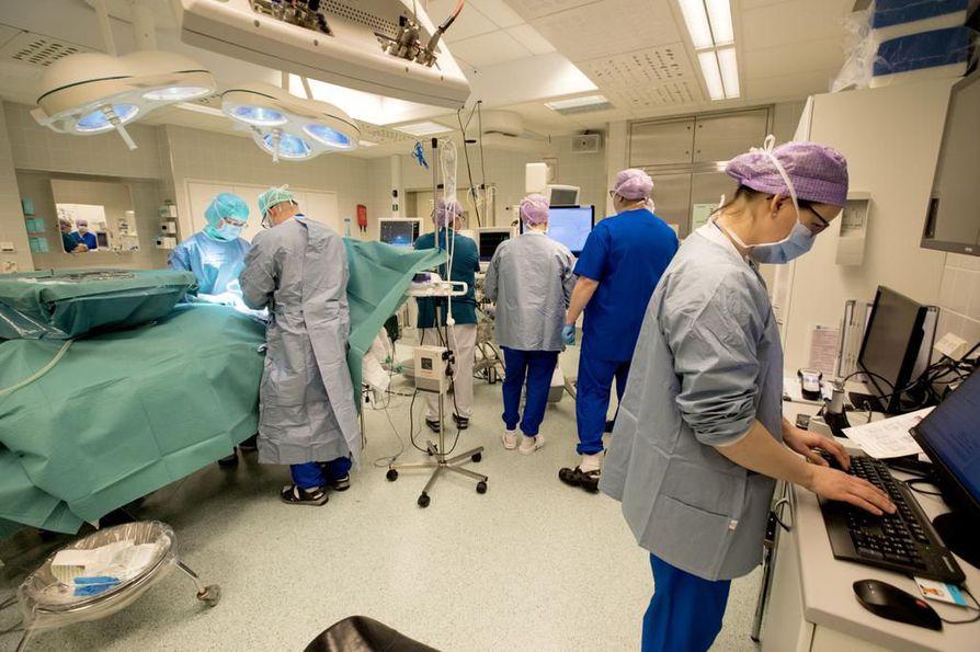 Muutoksia Raahen sairaalan leikkaustoimintaan voi tulla jo kuluvan vuoden aikana. Arkistokuva.