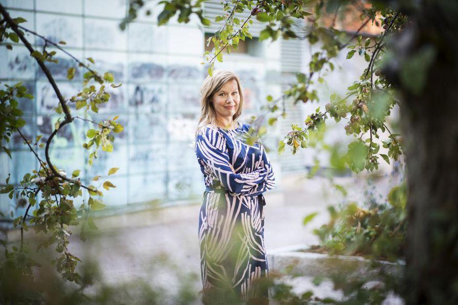 Kirjailija Minna Rytisalo sai ensimmäisen Botnia-palkinnon vuosi sitten romaanistaan Lempi.