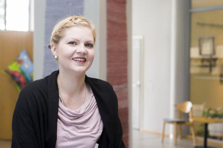 Muhoksen Musiikkipäivien taiteellinen johtaja, sopraano Kaisa Ranta.