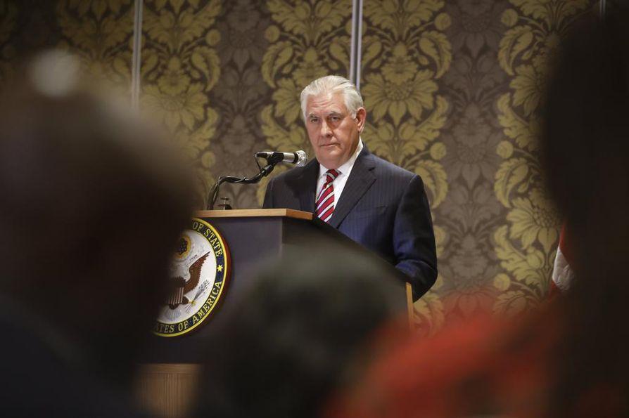 Rex Tillerson jättää ulkoministerin tehtävänsä.