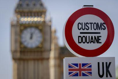 Asiantuntijat varoittavat Britannian hallitusta: rajoja ei saada pystyyn vuodenvaihteeseen mennessä