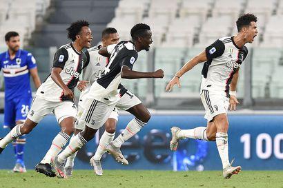 Juventus varmisti Italian jalkapallomestaruuden jo yhdeksännen kerran putkeen