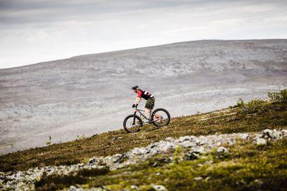 Ylläksen Karilasta lähtee liikkeelle jo enemmän maastopyöräilijöitä kuin kävelijöitä – maastopyöräilijöiden määrä kaksinkertaistui parissa vuodessa
