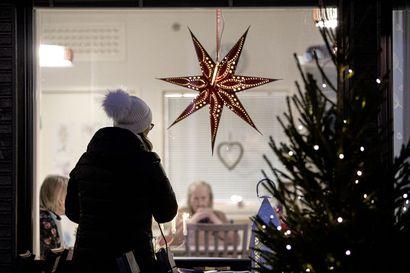 Ikkunahartaus tuo joulusanoman vanhuksille poikkeusoloissakin