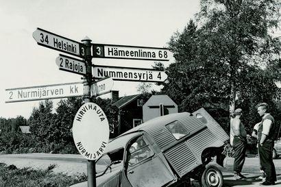 Tienviittojen kirjaimet ovat olleet samanlaisia jo vuodesta 1938 lähtien –Kirjainmalli TVH on ongelmallinen tiellä liikkujan näkökulmasta
