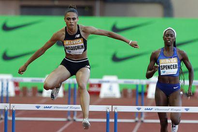 Sydney McLaughlin teki uuden maailmanennätysajan naisten 400 metrin aidoissa - ensimmäinen alle 52 sekunnin