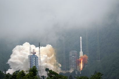 Kiina lähetti avaruuteen viimeisen Beidou-satelliitin sarjassa amerikkalaisen GPS-järjestelmän korvaajia